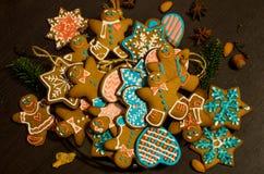 Печенья имбиря рождества Стоковая Фотография RF
