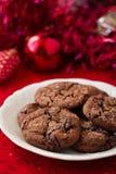 Печенья имбиря шоколада Стоковое Изображение RF
