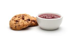 Печенья и варенье Стоковые Фотографии RF