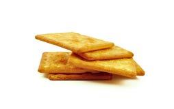 Печенья или печенья на белой предпосылке Стоковые Изображения RF