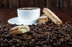 Печенья и кофе Стоковое фото RF