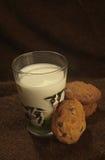 Печенья и молоко Стоковые Изображения RF