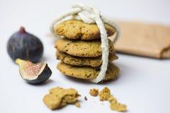 Печенья и смоквы Стоковые Фотографии RF