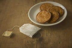 печенья и чай печений Стоковая Фотография RF