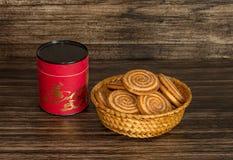 Печенья и чай Стоковые Изображения
