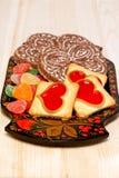 Печенья и Gingerbreads - lhbim Стоковые Изображения RF