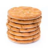 Печенья короткого печенья на белой предпосылке Стоковые Фотографии RF