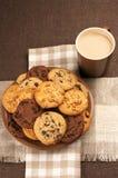 печенья кофе различные Стоковая Фотография