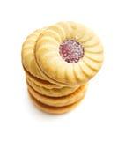 Печенья кольца варенья Стоковая Фотография RF