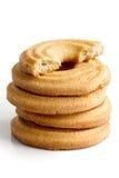 Печенья кольца масла Стоковое фото RF