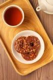 Печенья кольца шоколада Стоковая Фотография