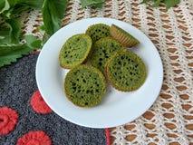 Печенья крапив зеленые Стоковое Фото