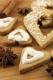 Печенья Кристмас Стоковые Фото