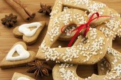 Печенья Кристмас Стоковое фото RF
