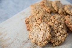 Печенья масл-овса арахиса Стоковые Изображения