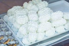 Печенья меренги в магазине печенья Стоковые Изображения RF
