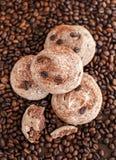 Печенья меренги шоколада Стоковые Изображения RF