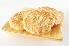 печенья миндалины стоковое изображение rf