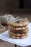 Печенья муки гречихи с шоколадом Стоковые Фото