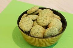 Печенья мяты в шаре Стоковое фото RF
