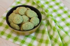 Печенья мяты в шаре Стоковая Фотография RF