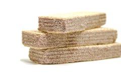 Печенья на белой предпосылке Стоковое фото RF