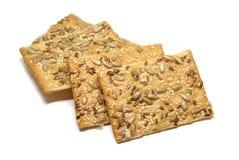 Печенья на белой предпосылке Стоковая Фотография