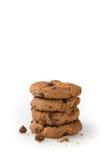 Печенья на белой предпосылке Стоковые Изображения RF