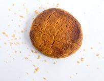 Печенья на белой предпосылке Стоковая Фотография RF