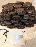 Печенья на подносе Стоковое Изображение RF