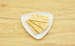 Печенья на плите Стоковое Фото