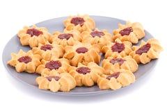 Печенья на плите Стоковое Изображение RF