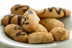 Печенья на плите Стоковые Изображения RF
