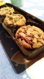 Печенья на таблице Стоковое Фото