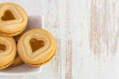 Печенья на шаре Стоковая Фотография