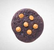 Печенья обломоков печений или шоколада на предпосылке Стоковое Изображение RF