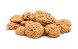 печенья обломоков шоколада и гайки анакардии Стоковое Изображение RF