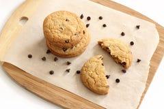 Печенья обломока шоколада стоковая фотография rf