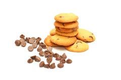 Печенья обломока шоколада Стоковое фото RF