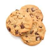 Печенья обломоков шоколада Стоковое Фото