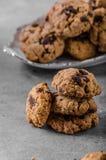 Печенья обломоков шоколада Стоковые Фотографии RF