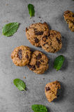 Печенья обломоков шоколада Стоковая Фотография
