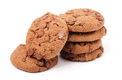 Печенья обломоков шоколада Стоковое Изображение