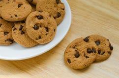 Печенья обломоков шоколада Стоковая Фотография RF