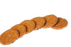Печенья овса и шоколада Стоковое Изображение