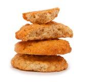 Печенья овсяной каши Стоковое фото RF