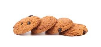 4 печенья овсяной каши Стоковая Фотография RF