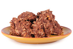 Печенья овсяной каши Стоковое Фото