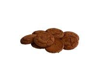 Печенья овсяной каши Стоковые Фото