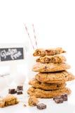 Печенья ломтя шоколада Стоковая Фотография RF